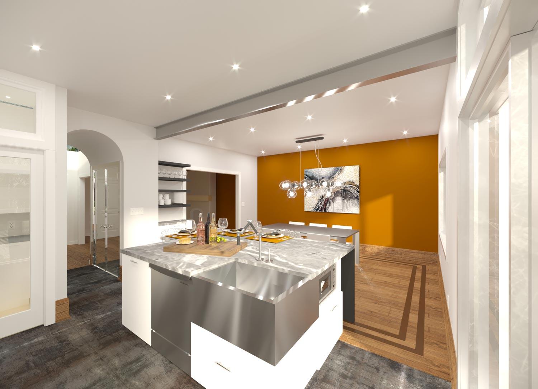 Design d'intérieur | Portfolio | Résidence Wilson | Rénovation Urbain Design